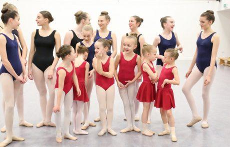 Ballet class at VBDance