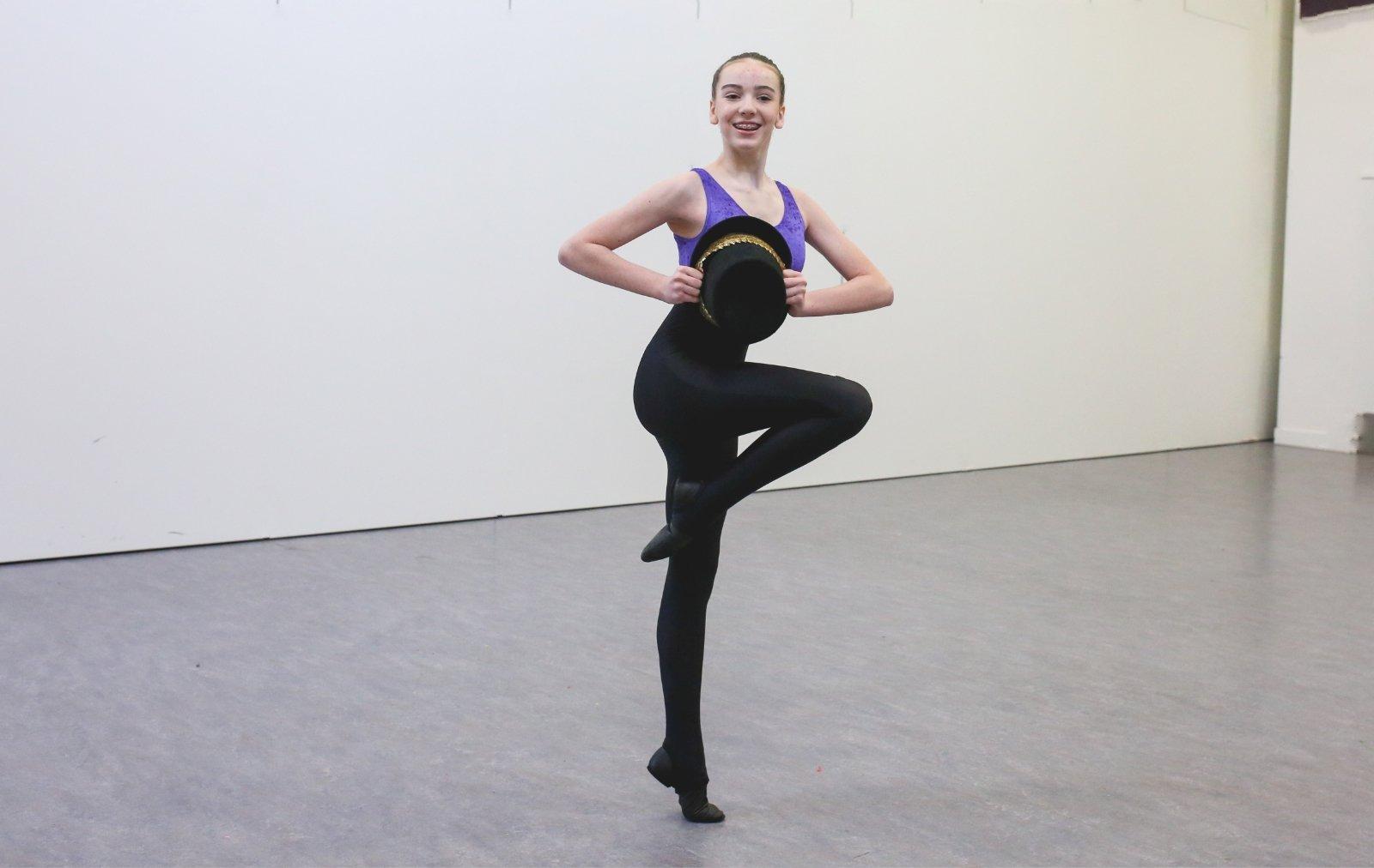 Modern Dance class at VBDance