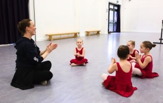 Pre School Ballet class at VBDance